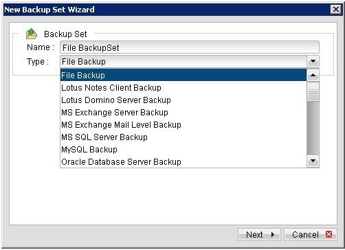 Sao lưu dữ liệu File, Folder